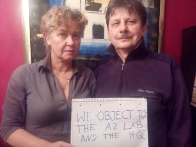 Aga's parents