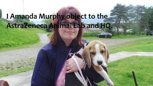 Amanda Murphy and dog friend