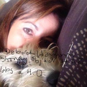 Deborah Wainwright and  dog friend
